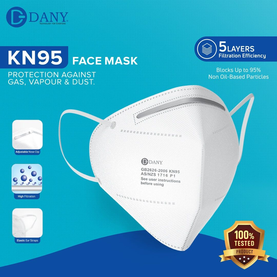 Dany KN95 Without Respiratory Filter Face Mask