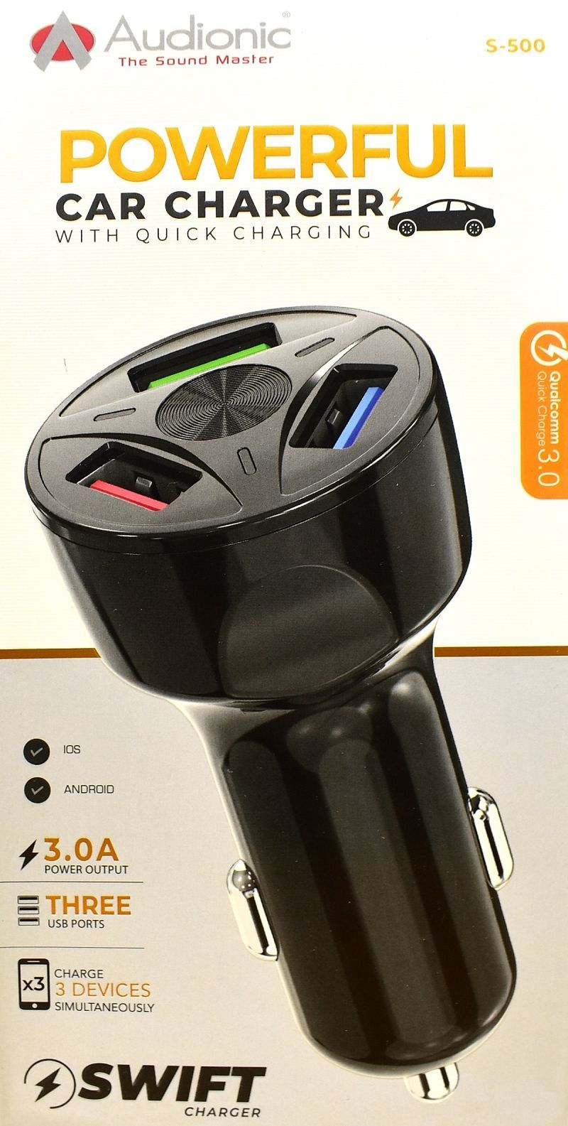 Swift S-500 Car Charger
