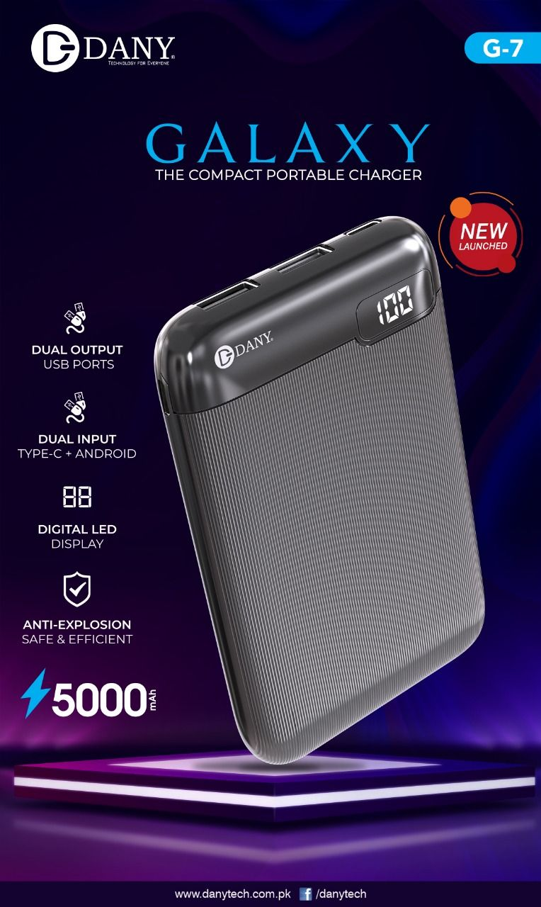 Dany Galaxy G07 Power bank