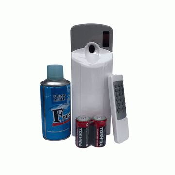 Automatic Air Freshener Dispenser Remote Controlled With Spray And Cells