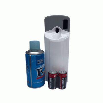 Automatic Air Freshener Dispenser With Spray And Cells