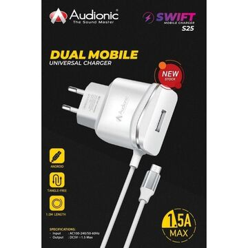 Audionic S-25 1.5A Charger