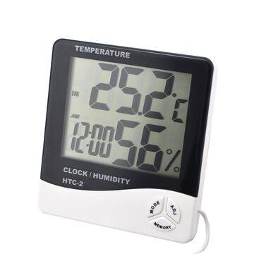 HTC 2 Temperature Clock Humidity Indicator