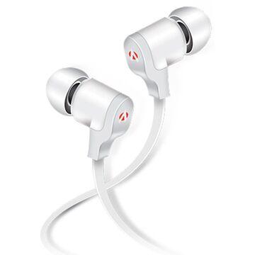MN-250 Music Note Earphones - White