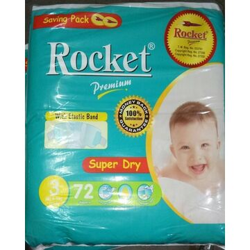 Rocket Premium Jumbo Pack Size 3 Medium
