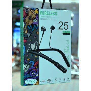 V38 Sports Wireless Bluetooth Neckband