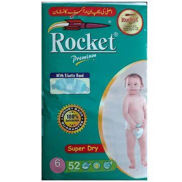 Rocket Premium Jumbo Pack Size 6 XXL